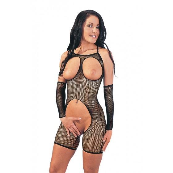 Fishnet catsuit S/M S/M