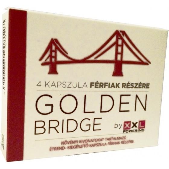 Pastile potenta Golden Bridge