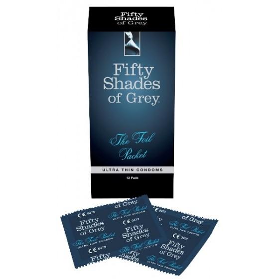Prezervative Ultra Thin Fifty Shades of Grey 12buc