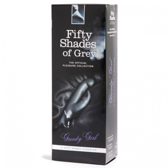 Vibrator rabbit Greedy Girl Fifty Shades of Grey 24cm