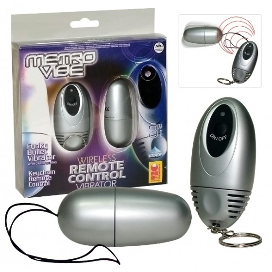 Ou vibrator Remote Control Metro Vibe 8cm