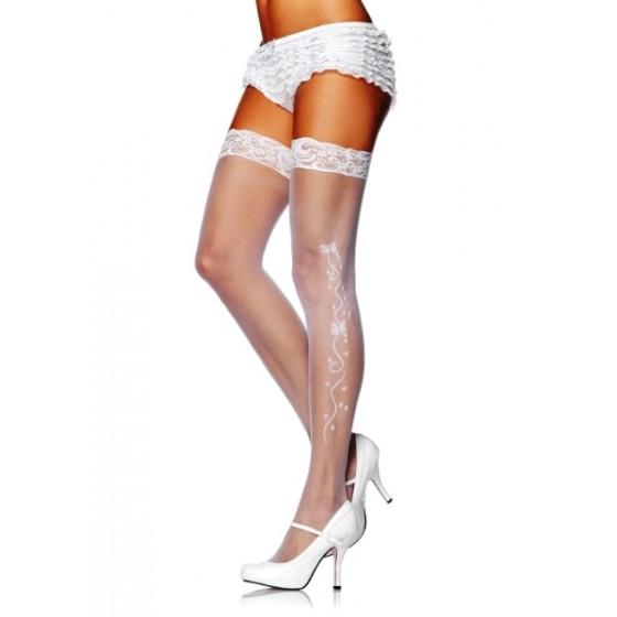 Ciorapi 2540 White