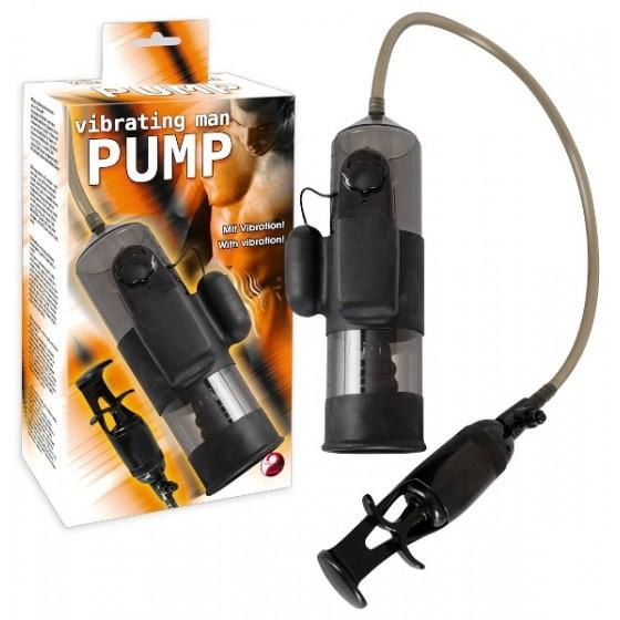 Pompă marire penis Vibrating Man Pump