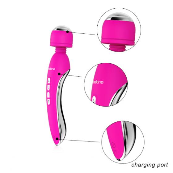 Vibromassager cu electro stimulare Nalone