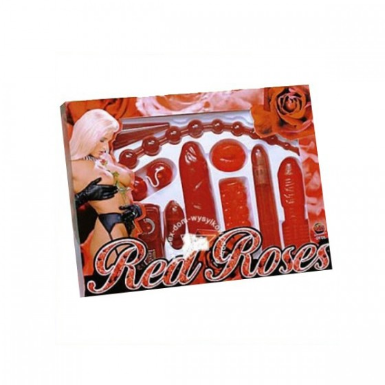 Set jucarii sexuale Red Roses