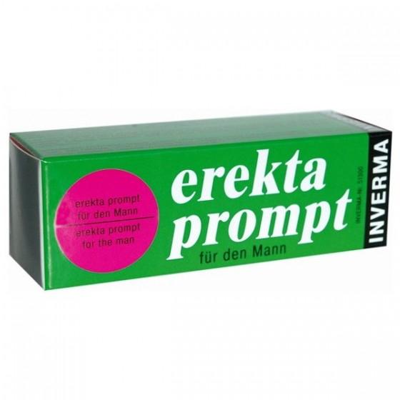 Crema pentru potenta Erekta Prompt