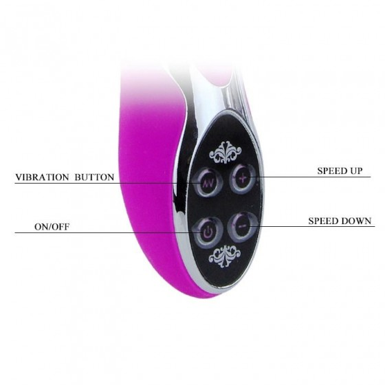 Vibrator Pretty Love Infinity 23cm