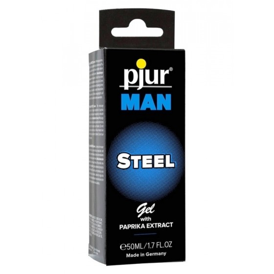 Gel crestere potenta Pjur Man Steel 50ml