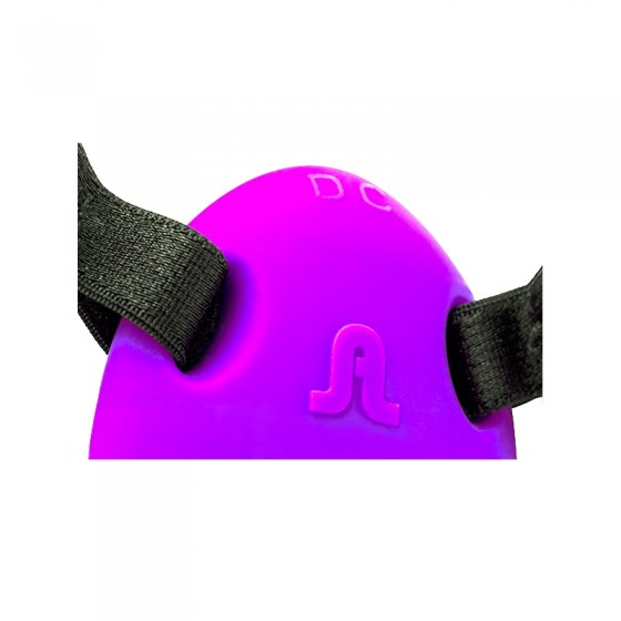 Strap-on cu vibratii triple action hands free Mr. Hook