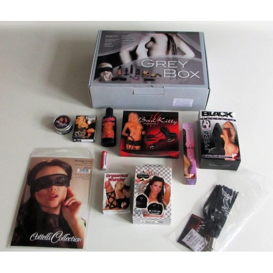 Set jucarii sexuale Grey Box 10piese