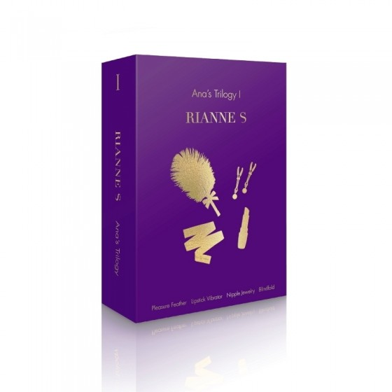 Set jucarii sexuale Rianne Ana Trilogy 4piese