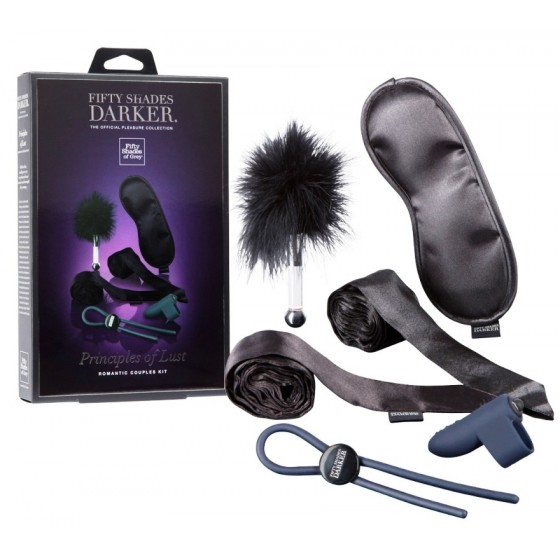 Set jucarii sexuale Principles of Lust Fifty Shades Darker 6piese