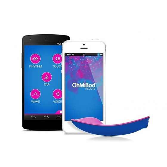 Vibrator inteligent OhMiBod Remote Bluemotion Nex 1 App Bluetooth