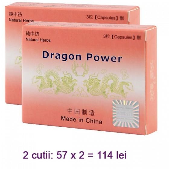 Capsule pentru potenta Dragon Power