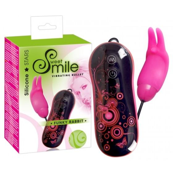 Vibro Bullet Smile Funky Rabbit 7 cm