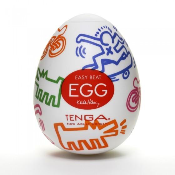 Ou masturbator Tenga Keith Haring Egg Street