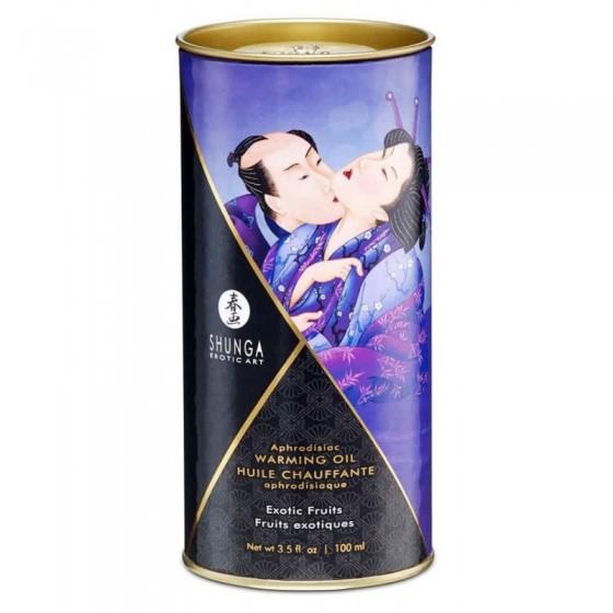 Ulei afrodisiac pentru masaj Shunga Fructe Exotice 100ml