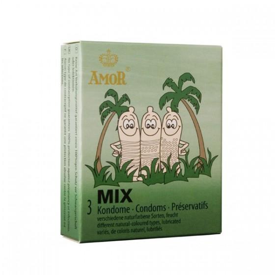 Prezervativ Amor Mix 3 buc