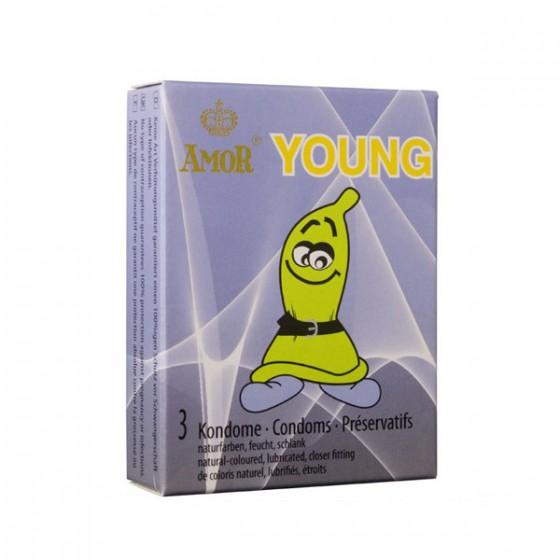 Prezervativ Amor Young 3 buc