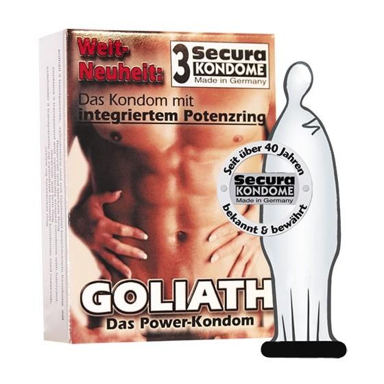 Prezervativ Goliath 3buc