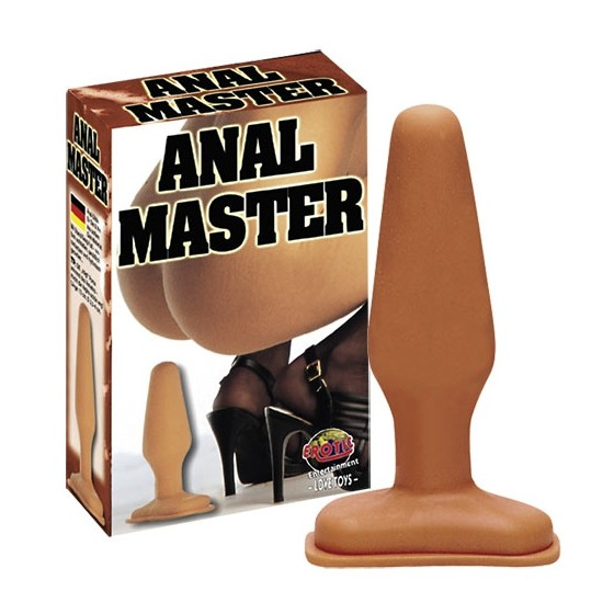 Butt plug Anal Master Big 14cm