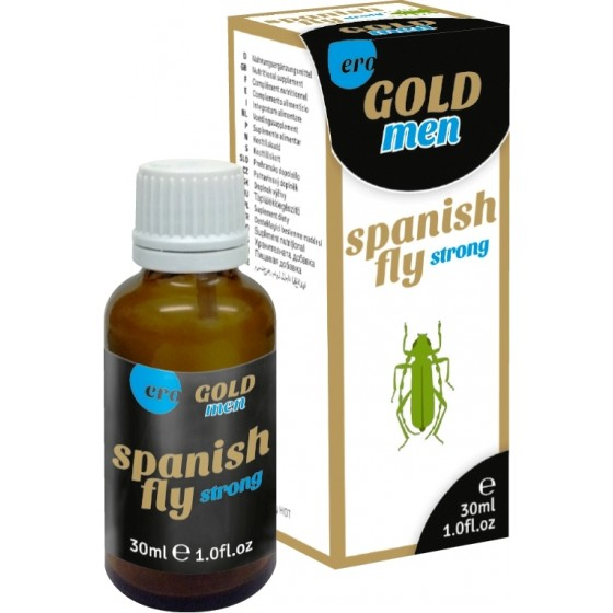 Afrodisiac Spanish Fly Men Gold Strong 30ml