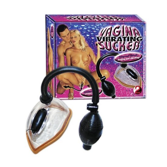 Vibrating Vagina Sucker Clear