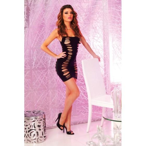 Dress Seduction negru OS