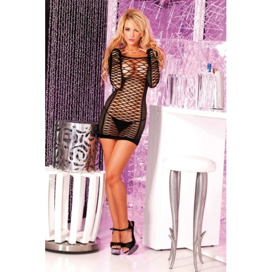 Dress mini Nothing negru OS