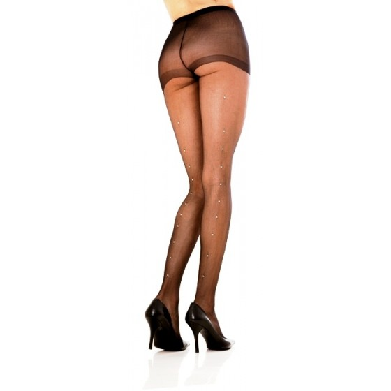 Ciorapi Sheer Pantyhose Rhinestone