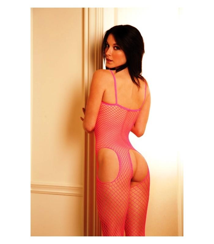 Short haired MILF Katja Kassin models sexy fishnet bodystocking № 57863  скачать