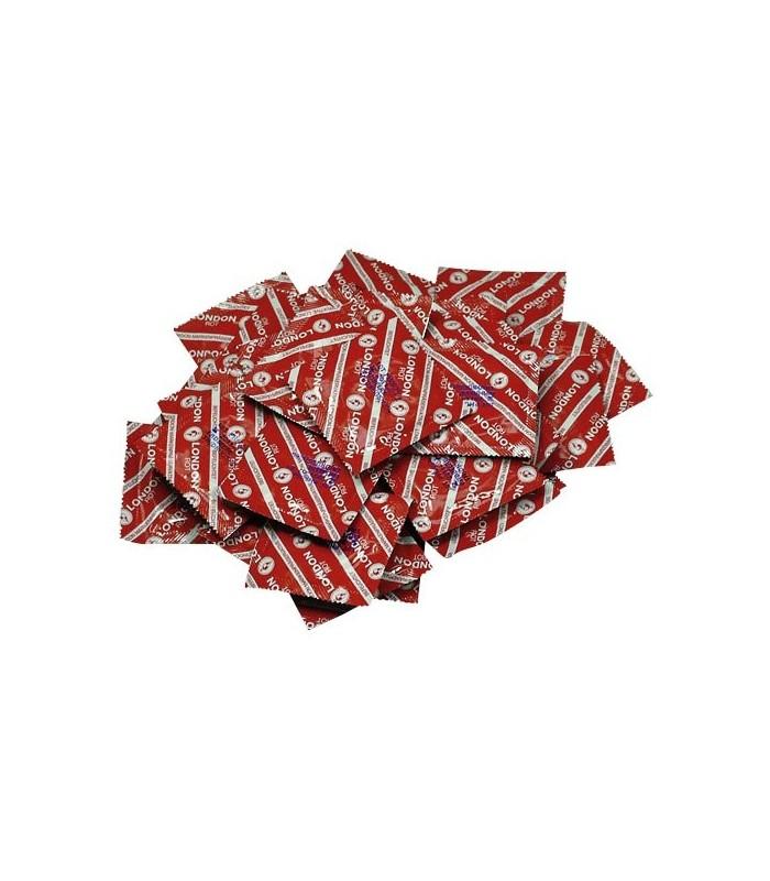 Prezervativ London capsuni 1buc