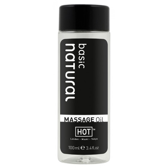 Ulei pentru masaj Hot Basic natural 100ml