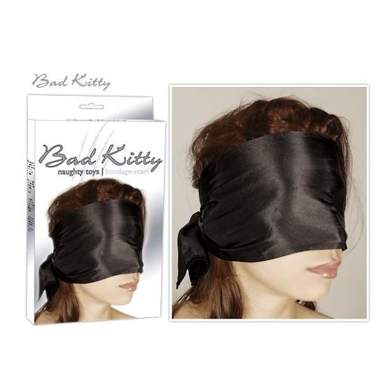 Bad Kitty Bondage Scarf black fekete