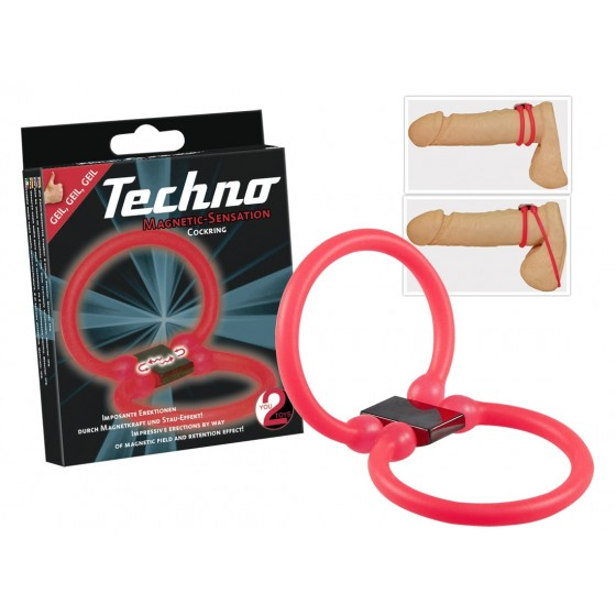 Techno Cockring, pink