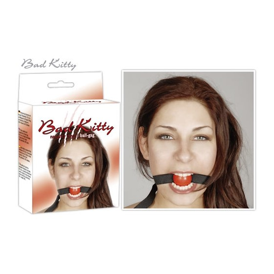 Bad Kitty Gag red
