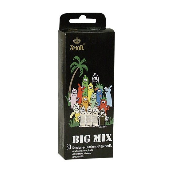Prezervative Amor Big Mix 30buc